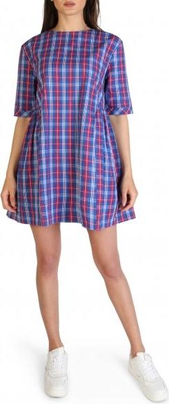 Sukienka Tommy Hilfiger mini w stylu casual z bawełny