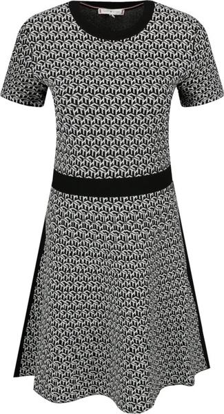 Sukienka Tommy Hilfiger w stylu casual rozkloszowana mini