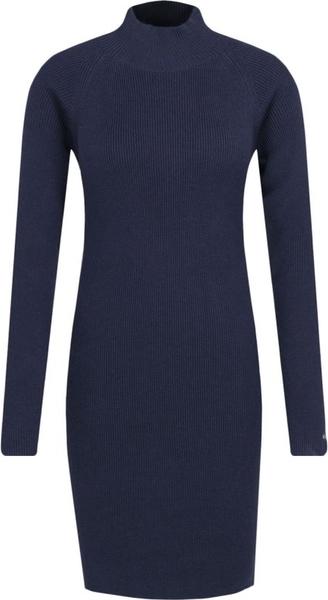 Sukienka Tommy Jeans mini z golfem w stylu casual
