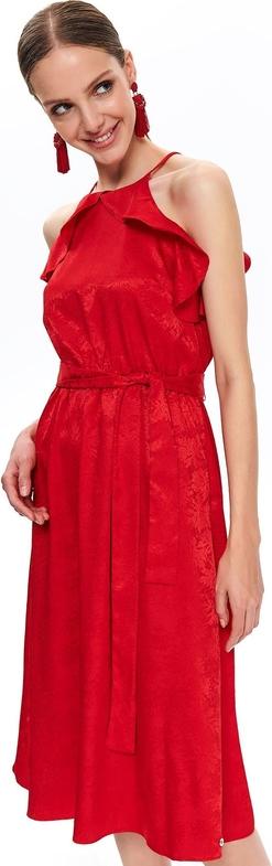 Sukienka Top Secret bez rękawów z dekoltem halter