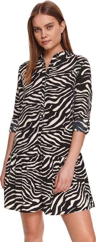 Sukienka Top Secret koszulowa w stylu casual