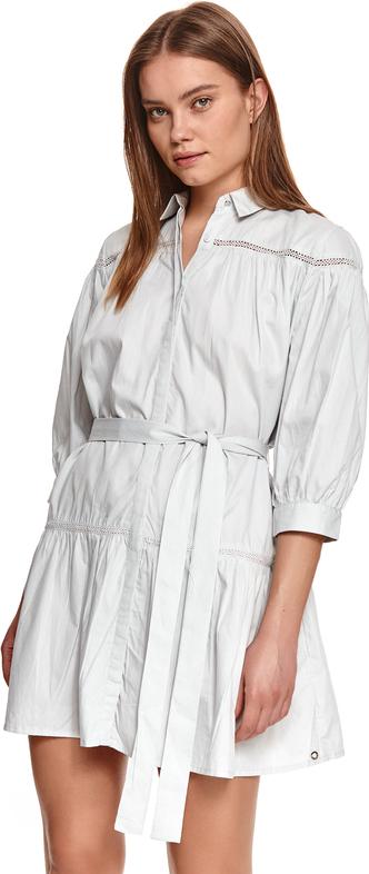 Sukienka Top Secret koszulowa w stylu casual z tkaniny