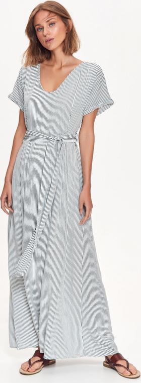 Sukienka Top Secret z dekoltem w kształcie litery v w stylu casual prosta
