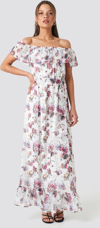 Sukienka Trendyol hiszpanka w stylu boho