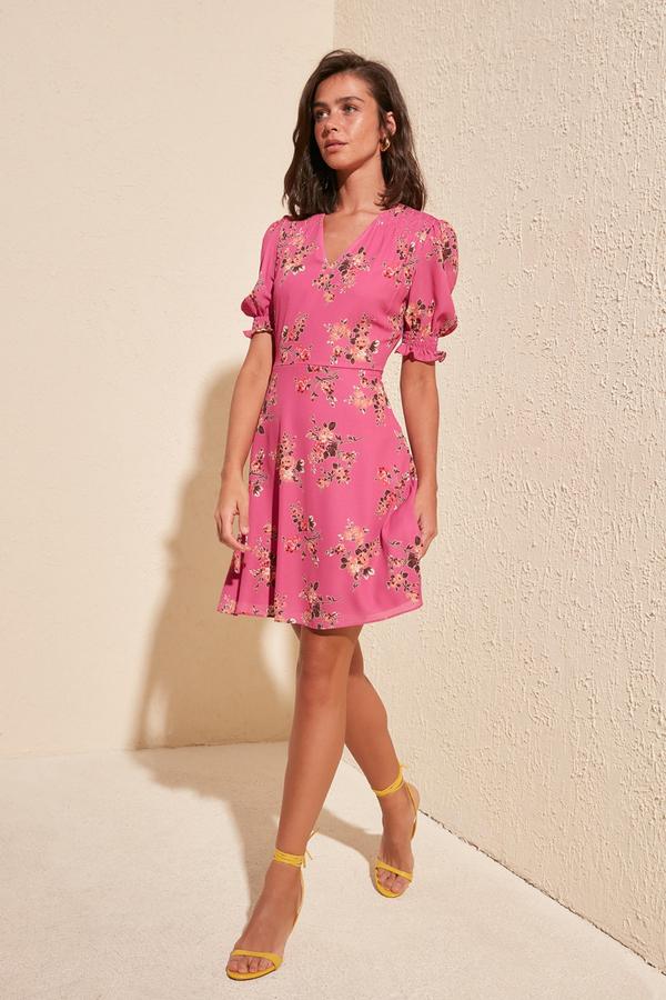 Sukienka Trendyol rozkloszowana mini