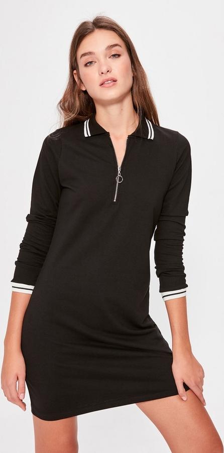 Sukienka Trendyol w stylu casual koszulowa z długim rękawem