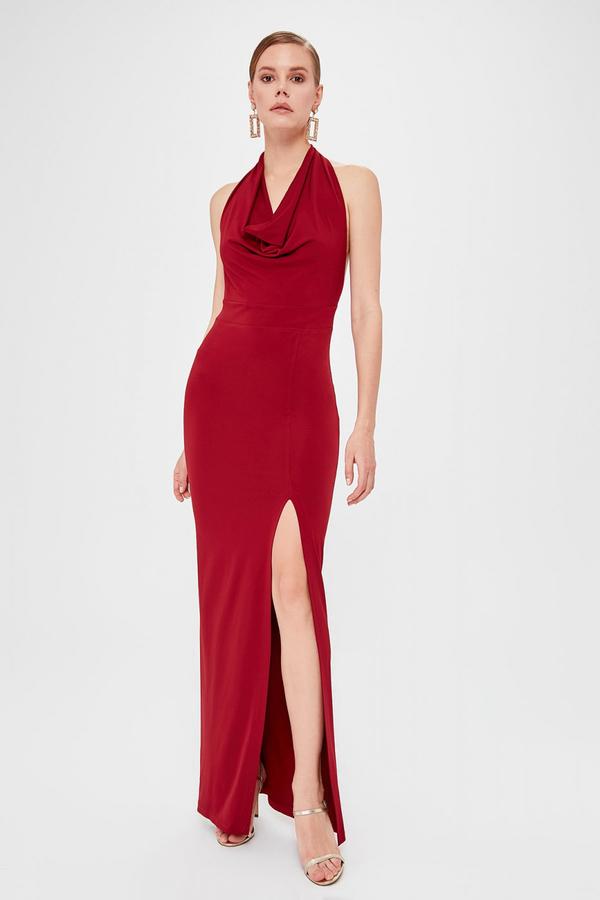 Sukienka Trendyol z dekoltem woda bez rękawów