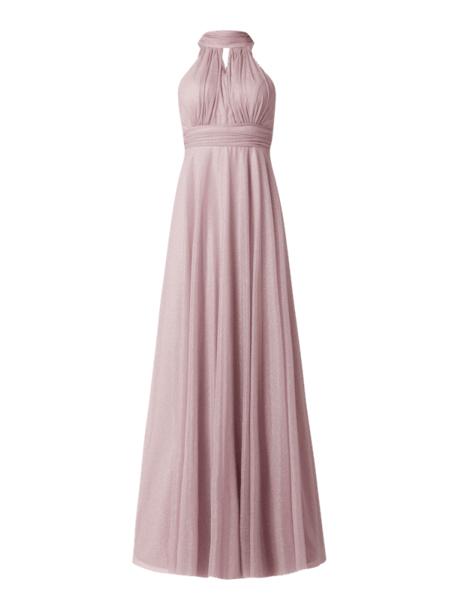 Sukienka Troyden Collection rozkloszowana maxi