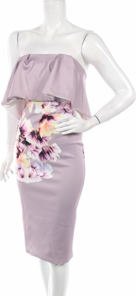 Sukienka True Violet bez rękawów