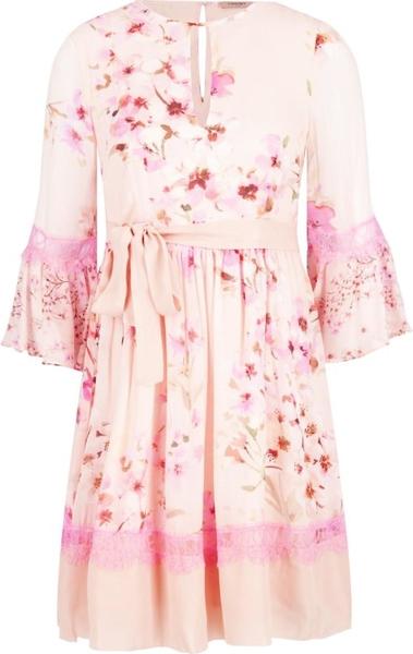 Sukienka Twinset mini z długim rękawem w stylu casual