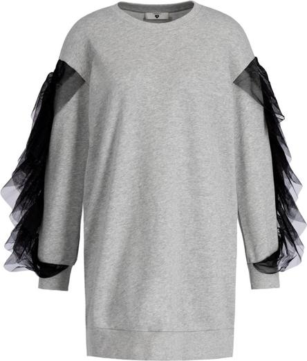 Sukienka Twinset w stylu casual z długim rękawem oversize