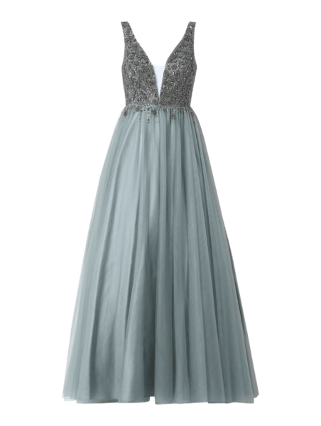 Sukienka Unique maxi na ramiączkach