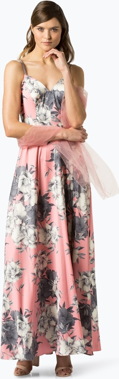 Sukienka Unique prosta na ramiączkach