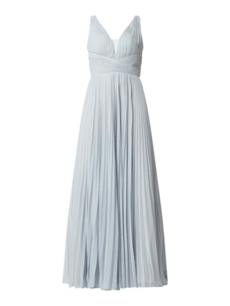 Sukienka Unique z szyfonu maxi