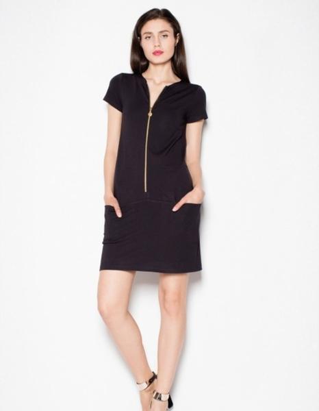 Sukienka Venaton z krótkim rękawem