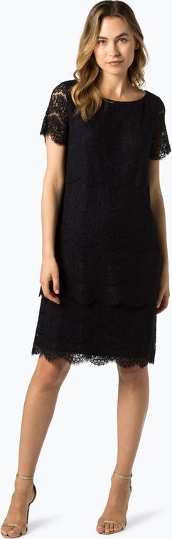 Sukienka Vera Mont Collection mini trapezowa z okrągłym dekoltem