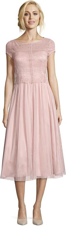Sukienka Vera Mont midi rozkloszowana