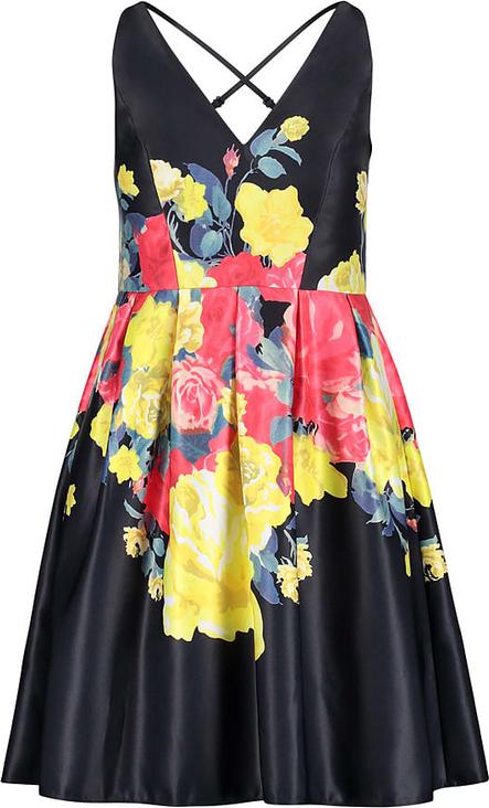 Sukienka Vera Mont z dekoltem w kształcie litery v bez rękawów mini