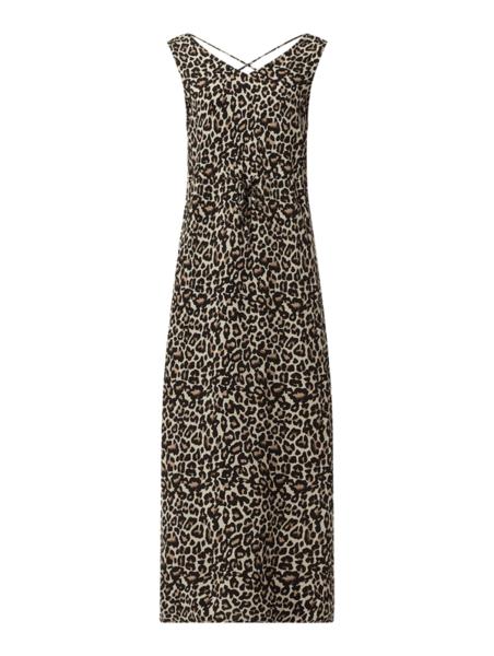 Sukienka Vero Moda bez rękawów maxi z dekoltem w kształcie litery v
