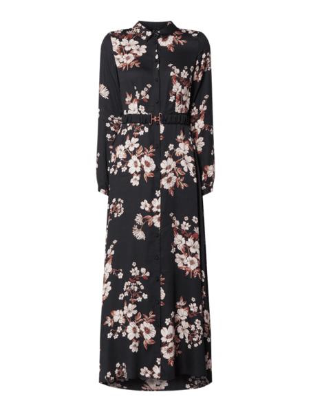 Sukienka Vero Moda z długim rękawem koszulowa