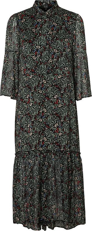 Sukienka Vero Moda z długim rękawem oversize maxi