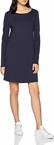 Sukienka Vero Moda z okrągłym dekoltem w stylu casual