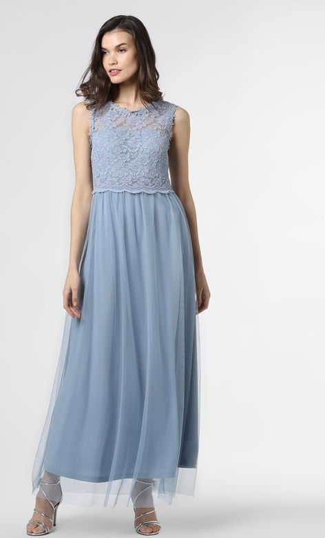 Sukienka Vila maxi bez rękawów z okrągłym dekoltem