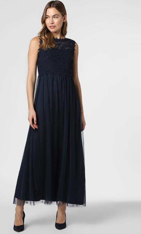 Sukienka Vila rozkloszowana bez rękawów z okrągłym dekoltem