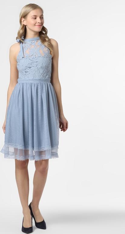 Sukienka Vila rozkloszowana z tiulu