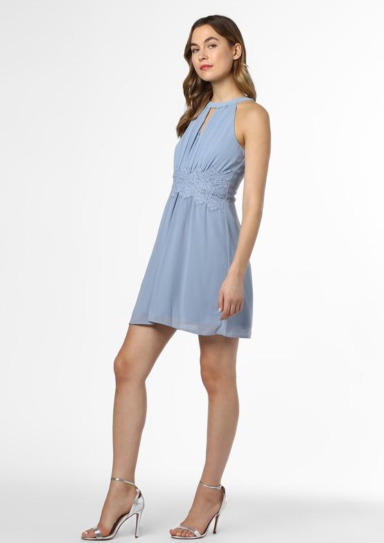 Sukienka Vila z dekoltem halter bez rękawów