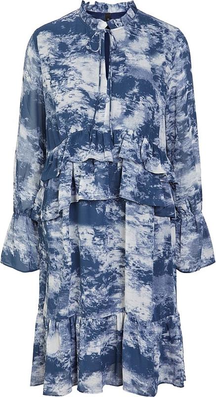 Sukienka Y.A.S w stylu casual mini z kołnierzykiem