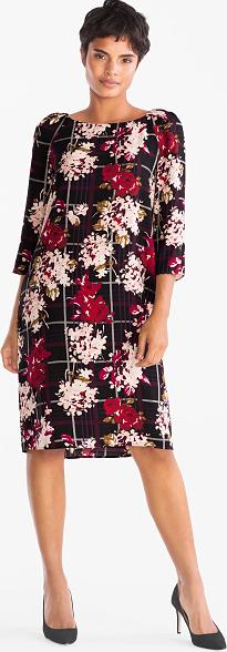 Sukienka Your Sixth Sense z długim rękawem w stylu casual midi