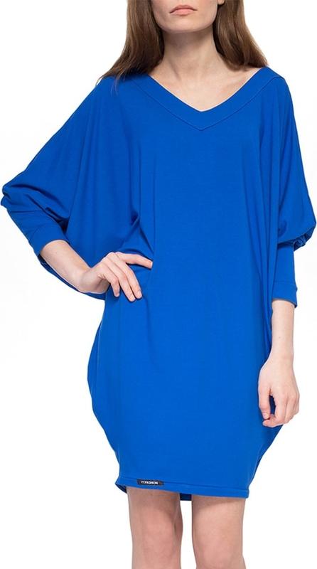 Sukienka Yuliya Babich z długim rękawem oversize