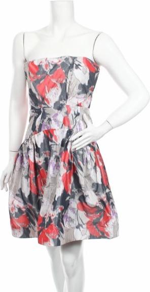 Sukienka Z Spoke By Zac Posen bez rękawów rozkloszowana