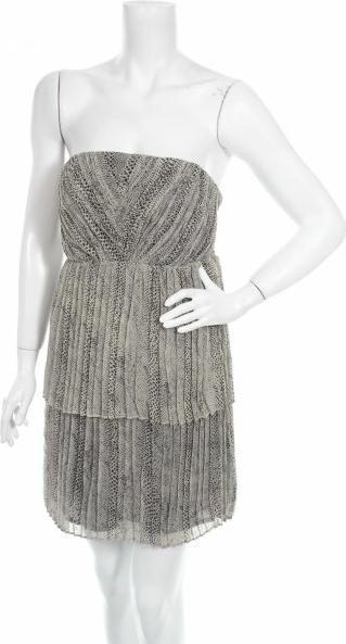 Sukienka ZARA bez rękawów w stylu casual mini