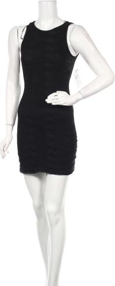 Sukienka Zara Trafaluc mini z okrągłym dekoltem