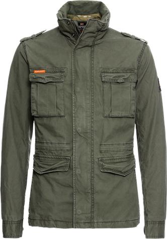 Superdry kurtka przejściowa 'classic rookie military jacket'