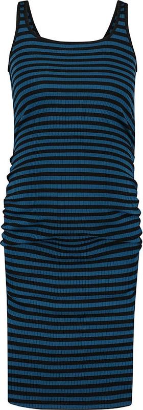 Supermom Sukienka ciążowa w kolorze czarno-granatowym