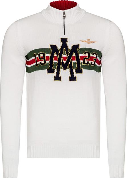Sweter Aeronautica Militare z wełny