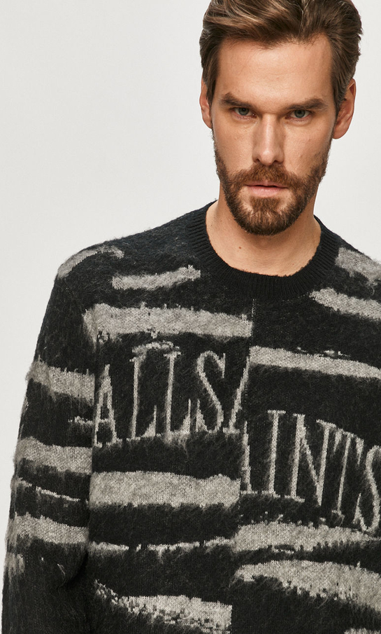 Sweter AllSaints z dzianiny