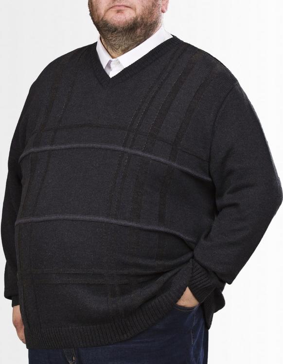 Sweter Big Men Certified z bawełny