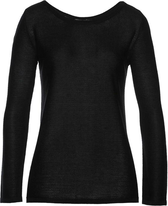 Czarny sweter bonprix bpc selection Odzież Damskie Swetry i bluzy damskie QI QSZYQI-7 szyk