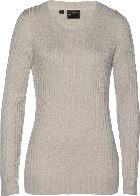 Sweter damski Bonprix Bpc Selection Premium