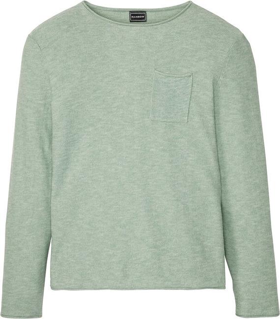 Sweter bonprix z okrągłym dekoltem