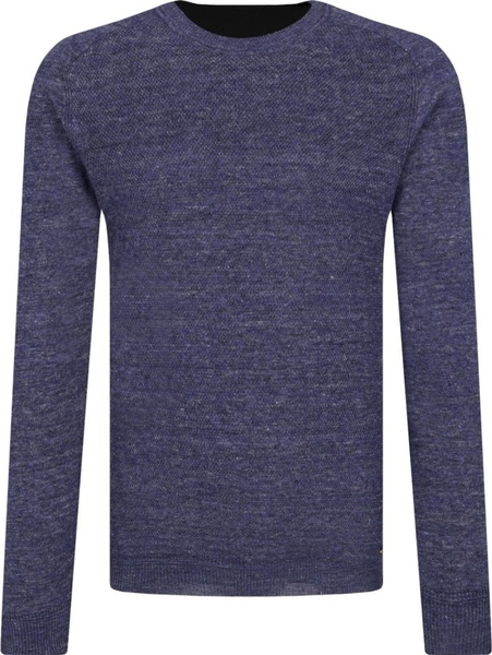 Sweter BOSS Casual w stylu casual z lnu