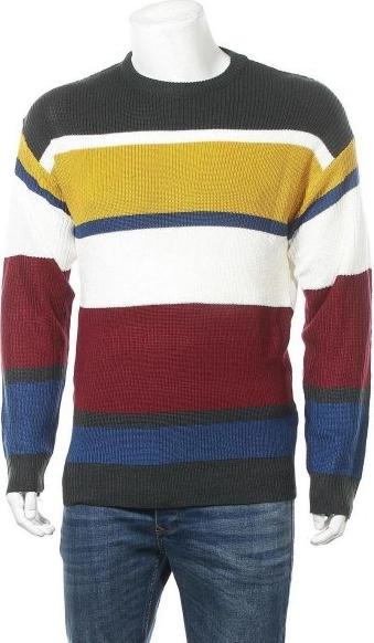 Sweter Brave Soul w młodzieżowym stylu z bawełny z okrągłym dekoltem