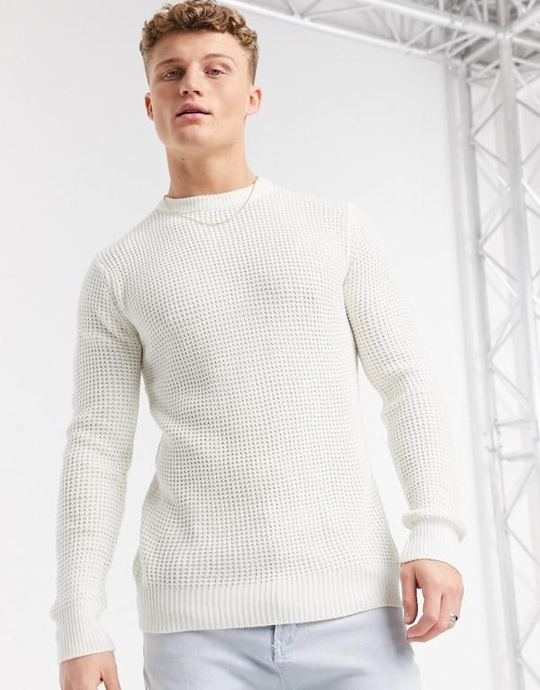 Sweter Brave Soul z dzianiny w stylu casual