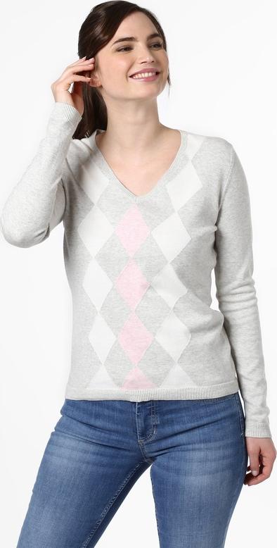 Sweter brookshire w geometryczne wzory