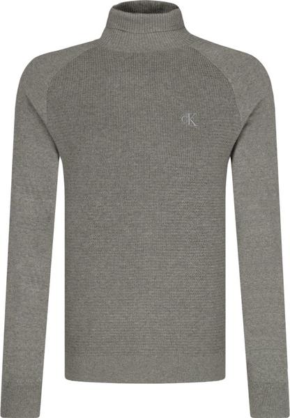 Sweter Calvin Klein z kaszmiru w stylu casual