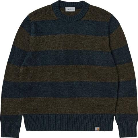 Sweter Carhartt WIP w młodzieżowym stylu z wełny